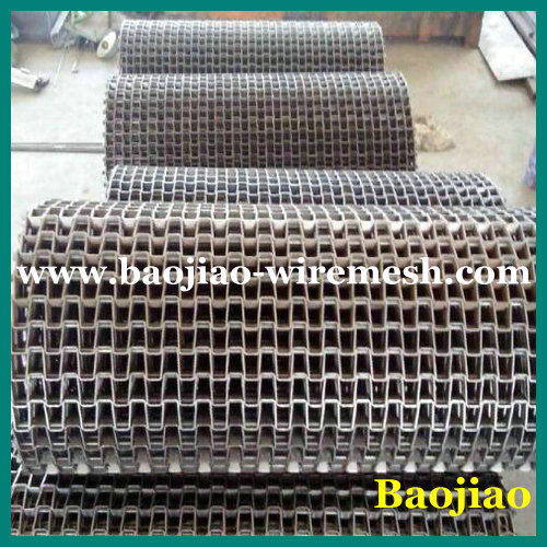 304/316 Stainless Steel Metal Wire Mesh Conveyor Belt