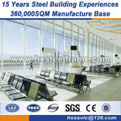 heavy structural fabrication metal prefab buildings ISO steel prefabricated