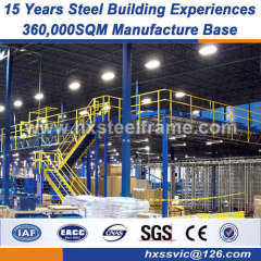 light frame steel pre engineered metal building components AWS code welded