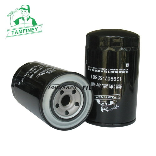 Diesel fuel filter for truck 129907-55801 12395-55800 129907-55800 22H-04-11240 22H-04-11250 6754-79-6140 tractor spare