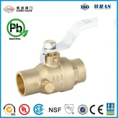 Lead Free Brass Ball & Waste Valve -Sweat