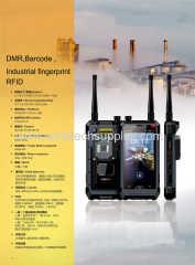 rfid 900mhz 2.45g 433mhz barcode dmr walkie talkie ptt industrial fingerprint 4g lte rug-ged phone oem order EX ATEX