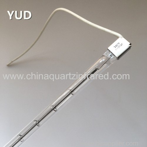 Quartz heating tube IR halogen heater lamp waterproof 5000hours