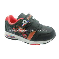 Baby vecro style trail walking shoes exporter