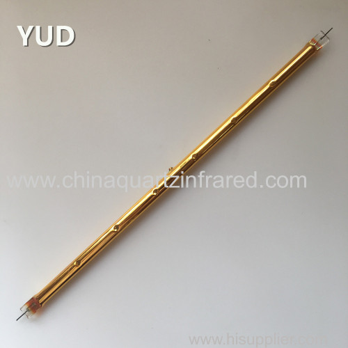 gold reflector infrared heating lamp for PVB laminated glass