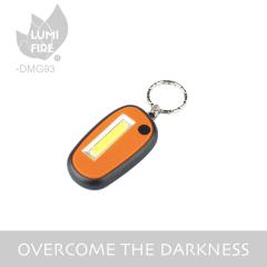 Button Battery Powered Portable Mini 0.5W COB 35LM LED Key Chain Light