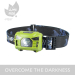 Hand-free Led USB Rechargeable Headlamp with Motion Sensor