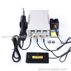 WL PPD120SL 3-IN-1 A8 A9 CPU Desoldering Station Hot Air Rework Station