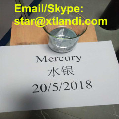 mercury quick siliver hydrargyrum china mercury supplier cas 7439-97-6 quicksilver liquid mercury