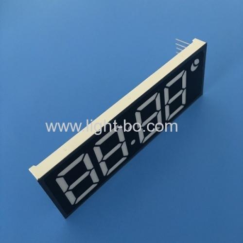 Ultra bright white custom design 1inch 4 digit 7 segmnet led clock display for clock indicator