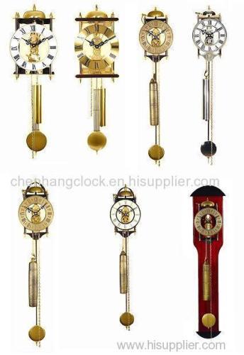 wall clock -skeleton clock