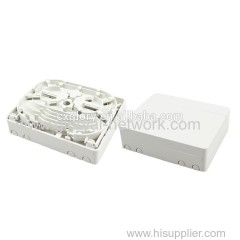 4 Core Mini Fiber Optic FTTH Box