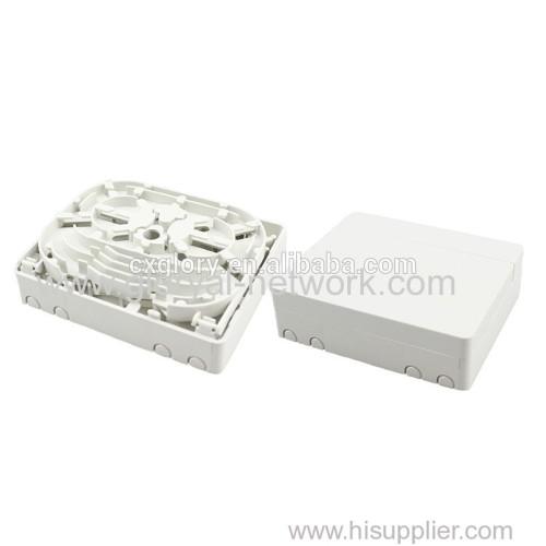 4 Core Mini Fiber Optic FTTH Box