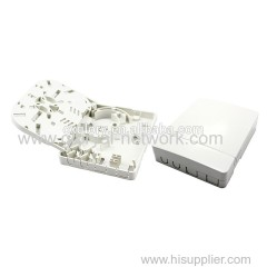 2 Core Mini Fiber Optic FTTH Box