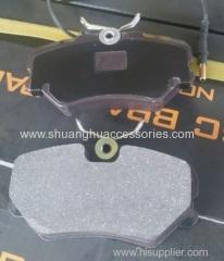 Brake pads for Peugeot auto car-semi metallic brake lining