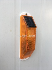Road full flash modes solar warning light