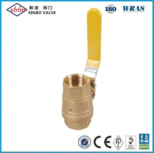 Safety Exhaust Brass Ball Valve -Threaded