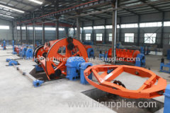 Power cable manufacturing equipment Laying Up machine for cable and wire