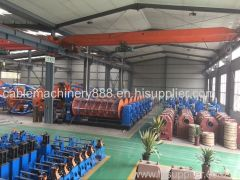 Steel Wire Armoring Machine Cable Manufacturing Equipment.steel armored strander