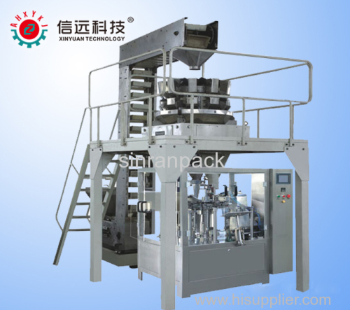 pouch packaging machine for granule