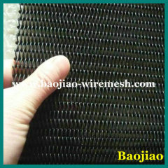 Black Teflon Coated Metal Conveyor Belt Mesh
