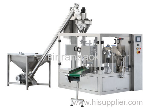 stainless steel pouch powder packaging machine