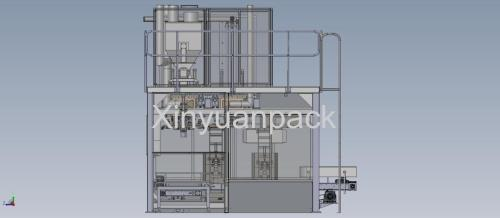 Automatic ultra-fine powder packing machine