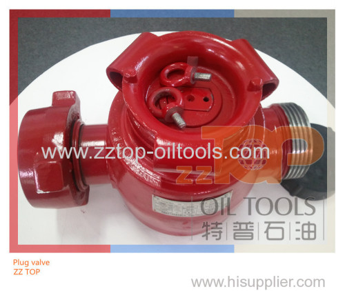 High pressure plug valve for oilfield well control service