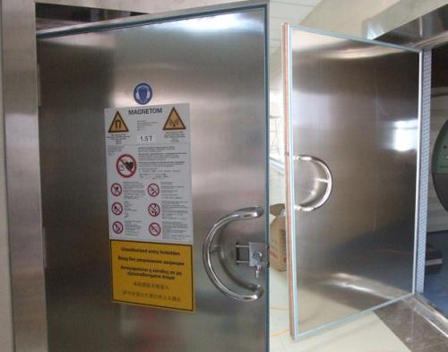 MRI shielding doors for hospitals