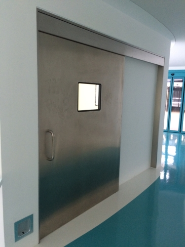 automatic hermetic sliding x-ray doors