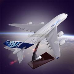 Scale Model Aircraft Simulation Plane Model Customization Airbus 380 Original Aircrafts Resin Manufacturer Direct Sales