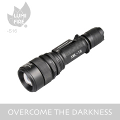 Telescopic Zoom CREE T6 Tactical LED Flashlight