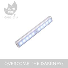 USB Rechargeable 10 LEDs Motion Sensor Cabinet Light