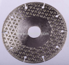 Diamond Cutting Wheel with 8 Slot Keys