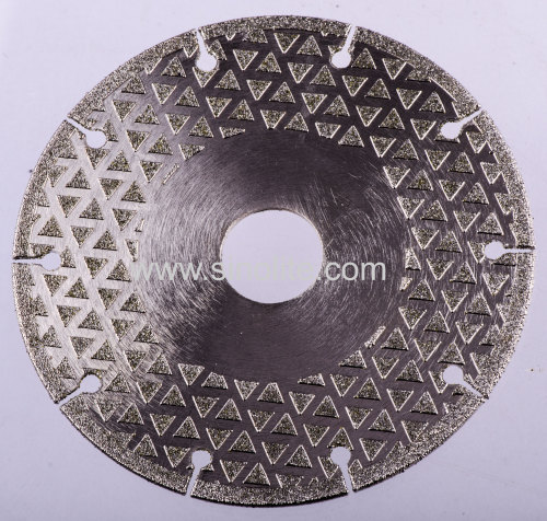 Diamond Electroplated Cutting Grinding Wheel