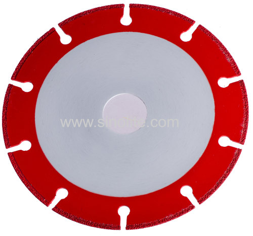 Diamond Electroplated Cutting Disc for Steel