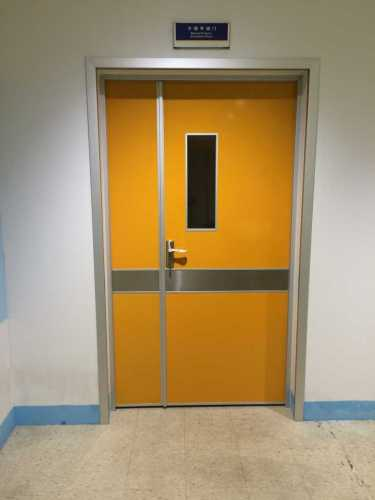 air tight swing doors with aluminum molded frames