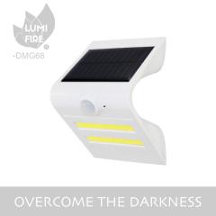 big size super bright COB solar motion sensor wall light for garden