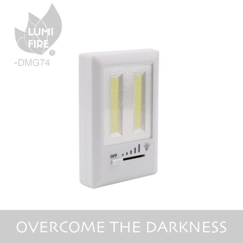 Brightness Adjustable dimming COB LED Wall Mount Light Switch