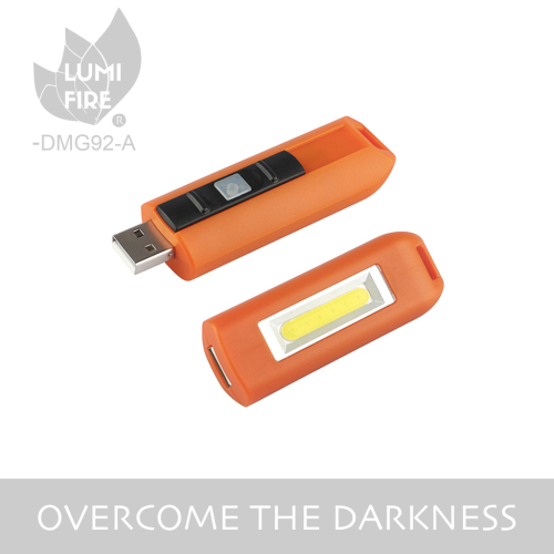 Bright usb rechargeable led flashlight keychain torch light