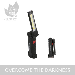 New USB charging COB led light with magnet multi-function handheld work light