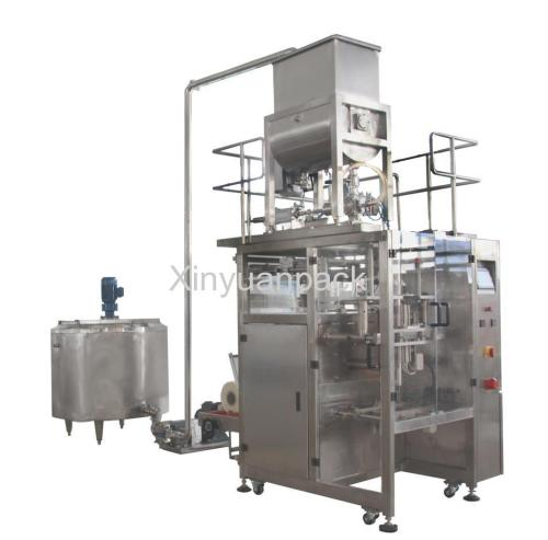 Paste Cream Filling Packing Machine