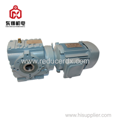 SA vertical shaft helical worm geared reducer gear motor