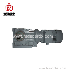 KA Helical bevel geared motor speed transmission reduction motor gearbox reducer drive reductor gears