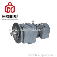 RF Series Surface Hardened Helical Gear Motor gearbox gear Reducer