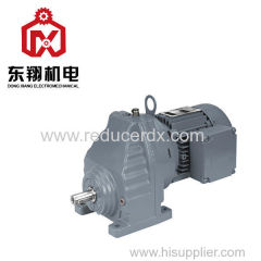 RX Series Helical Gearbox Speed Reducer Helical Gear Unit