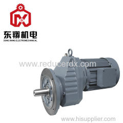 RXF series helical gear reducer gearbox speed reducer