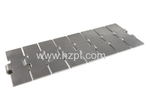 Straight Conveyor Flat Top Chain CC13SA CC13SB CC13SC For Food and Glass Industry