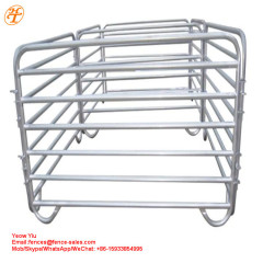 China supplier cheap used corral livestock panels price assembles at will
