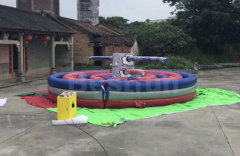 Inflatable kapow obstacle course challenge